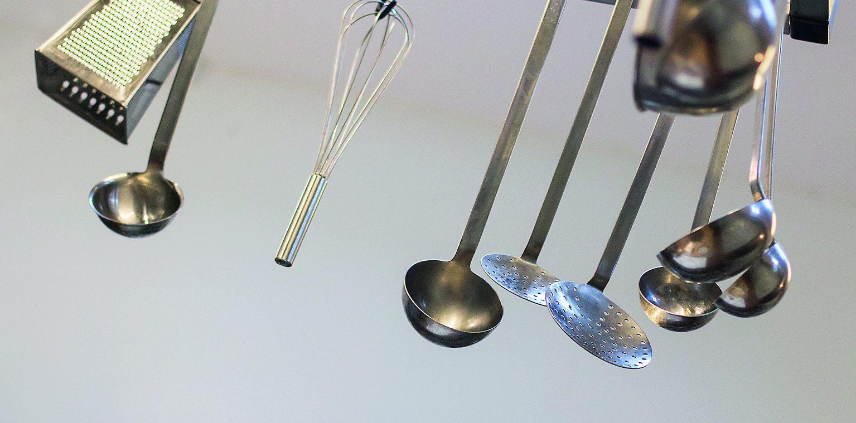 Bild på köksredskap